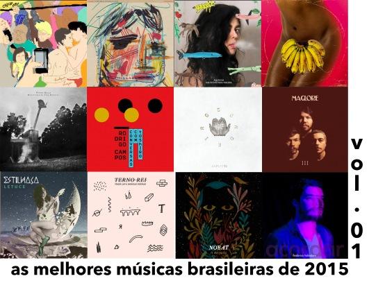 As Melhores Músicas Brasileiras de 2015 | Vol. 01