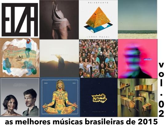 As Melhores Músicas Brasileiras de 2015 | Vol. 02